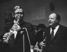 Bob Wilber; Billy Butterfield, by Harry Diamond - NPG x210188