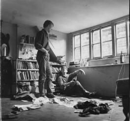 Mike Sarne; David Scheuer, by John Drysdale - NPG x198416