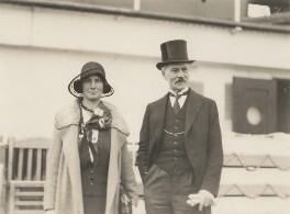 Ishbel MacDonald; Ramsay MacDonald, by Unknown photographer - NPG x198423