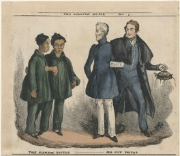 The Siamese Youths - Our Own Youths, by William Heath, published by  Thomas McLean - NPG D48799