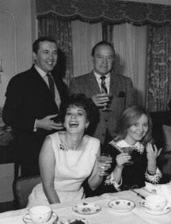 David Frost; Maureen O'Hara; Bob Hope; Lulu, by Unknown photographer - NPG x198441