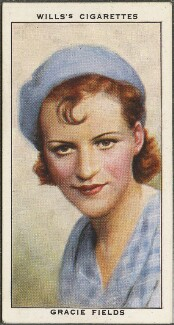 Dame Gracie Fields, issued by W.D. & H.O. Wills - NPG D47195