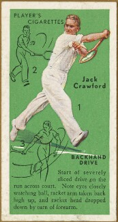 Jack Crawford, issued by John Player & Sons - NPG D47330