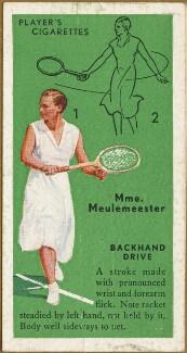 Josane Sigart (later Josiane de Meulemeester), issued by John Player & Sons - NPG D47334