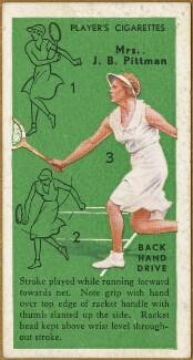 Elsie Alice Pittman (née Goldsack), issued by John Player & Sons - NPG D47337
