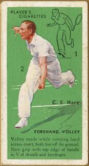 Charles Edgar Hare, issued by John Player & Sons - NPG D47344
