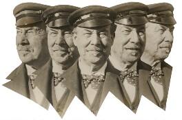 Sir Thomas Johnstone Lipton, 1st Bt, by Herbert Photos - NPG x198482