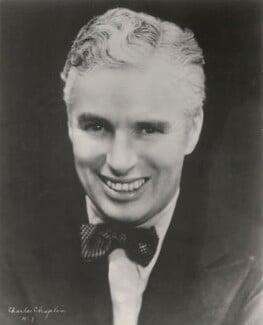 Charlie Chaplin, by Unknown photographer - NPG x198485
