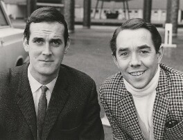John Cleese; Ronnie Corbett, by Unknown photographer - NPG x198496