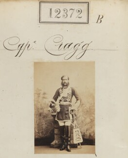 Captain Cragg, by Camille Silvy - NPG Ax62025