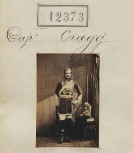 Captain Cragg, by Camille Silvy - NPG Ax62026