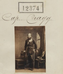 Captain Cragg, by Camille Silvy - NPG Ax62027