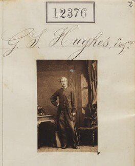 Mr G.S. Hughes, by Camille Silvy - NPG Ax62029