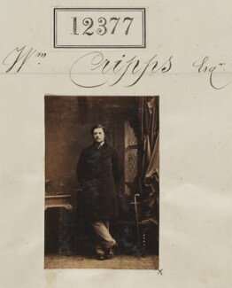 William Cripps, by Camille Silvy - NPG Ax62030