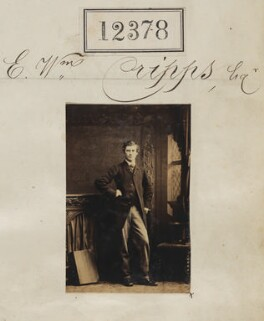 Mr E. William Cripps, by Camille Silvy - NPG Ax62031