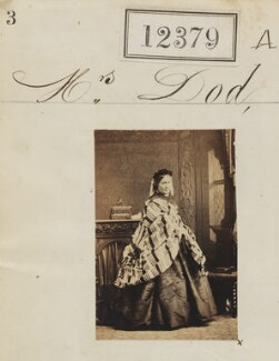 Mrs Dod, by Camille Silvy - NPG Ax62032