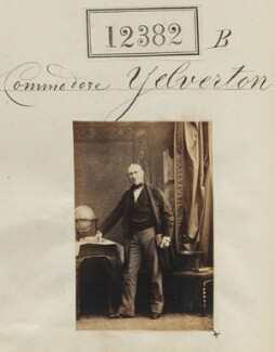 Commodore Yelverton, by Camille Silvy - NPG Ax62035