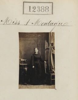 Miss A. Montague, by Camille Silvy - NPG Ax62037