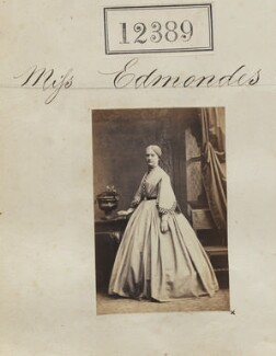 Miss Edmondes, by Camille Silvy - NPG Ax62038