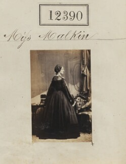 Miss Malkin?, by Camille Silvy - NPG Ax62039