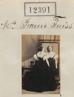 Mrs Fravers Twiss, by Camille Silvy - NPG Ax62040