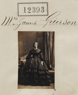 Mrs James Grierson, by Camille Silvy - NPG Ax62042