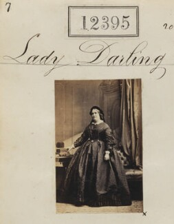 Lady Darling, by Camille Silvy - NPG Ax62044
