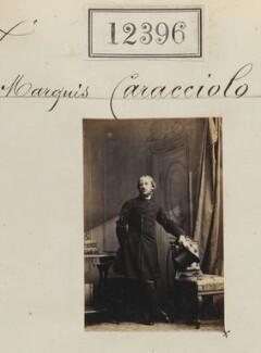 Marquis Caracciolo, by Camille Silvy - NPG Ax62045