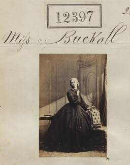 Miss Buckoll, by Camille Silvy - NPG Ax62046