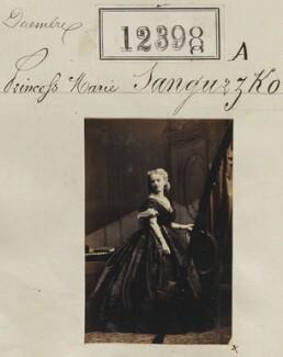 Princess Marie Sanguzzko, by Camille Silvy - NPG Ax62047