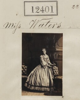 Miss Waters, by Camille Silvy - NPG Ax62050