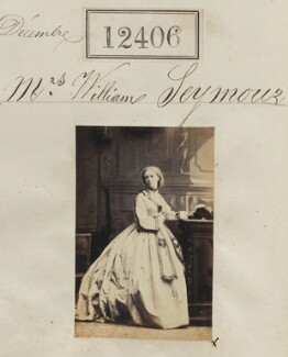 Mrs William Seymour, by Camille Silvy - NPG Ax62055