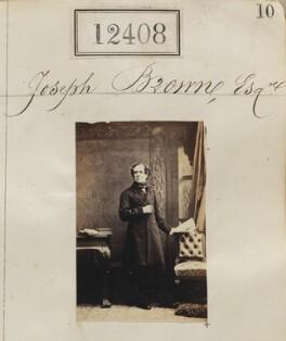Joseph Browne, by Camille Silvy - NPG Ax62057