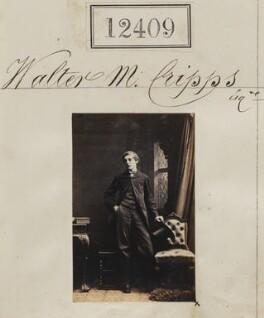 Walter M. Cripps, by Camille Silvy - NPG Ax62058