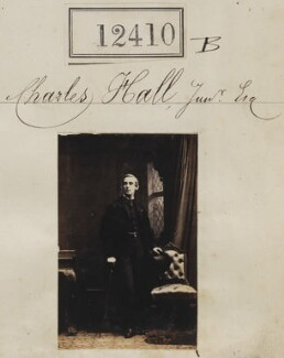Charles Hall Jr, by Camille Silvy - NPG Ax62059