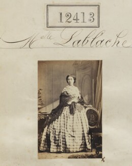 Mademoiselle Lablache, by Camille Silvy - NPG Ax62062