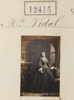 Mrs Vidal, by Camille Silvy - NPG Ax62064