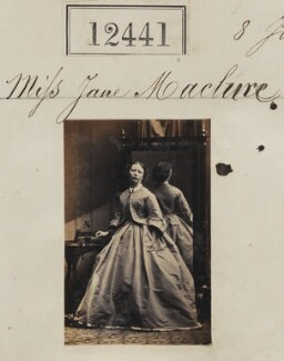 Miss Jane Maclure, by Camille Silvy - NPG Ax62090