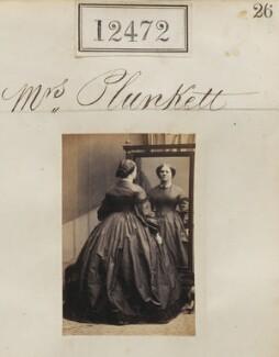 Mrs Plunkett, by Camille Silvy - NPG Ax62121