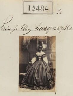 Princess Ellen Sanguzzko, by Camille Silvy - NPG Ax62133