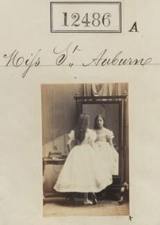 Miss St Auburne, by Camille Silvy - NPG Ax62135