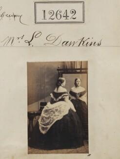 Mrs L. Dawkins, by Camille Silvy - NPG Ax62286