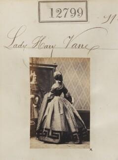 Lady Mary Vane, by Camille Silvy - NPG Ax62442