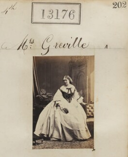 Mrs Greville, by Camille Silvy - NPG Ax62809