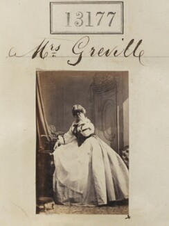 Mrs Greville, by Camille Silvy - NPG Ax62810