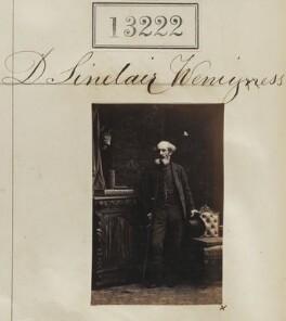 D. Sinclair Weniyss?, by Camille Silvy - NPG Ax62855