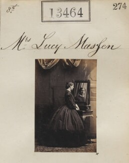 Lucy Masfen, by Camille Silvy - NPG Ax63097