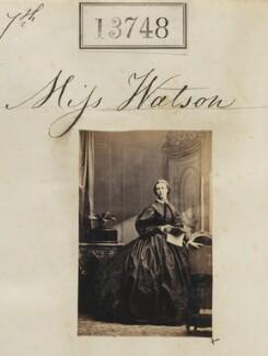 Miss Watson, by Camille Silvy - NPG Ax63379