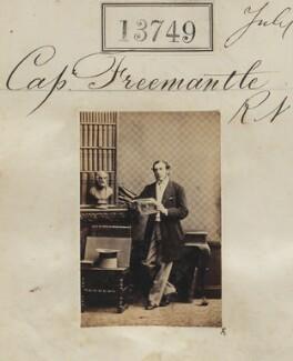 Captain Freemantle R.N., by Camille Silvy - NPG Ax63380