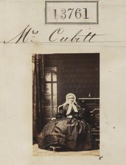 Mrs Cubitt, by Camille Silvy - NPG Ax63392